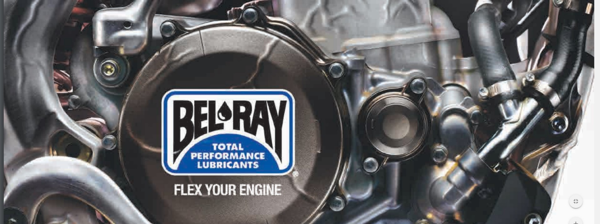 Bel-Ray olie, bewezen kwaliteit.